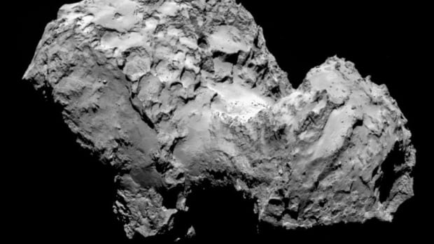 The comet has been observed for months by instruments aboard Europe's Rosetta space probe, which has been flying alongside comet 67P/Churyumov-Gerasimenko since August.