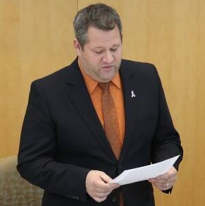 NWT Health Minister Glen Abernethy