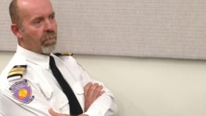 Yvan Charron, L'Isle Verte fire chief