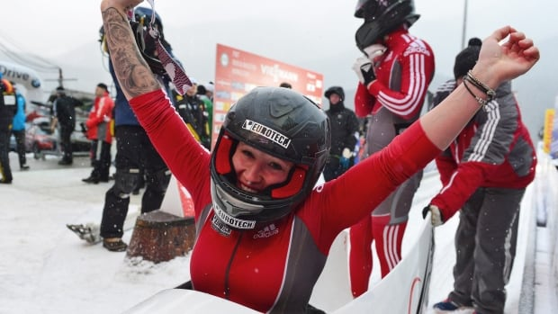 Kaillie Humphries Makes History In 4 Man Bobsled Cbc Sports Sporting News Opinion