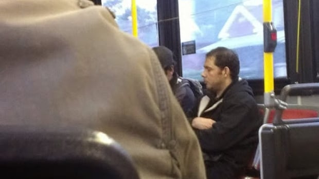Toronto police released this image of a man suspected in three sexual assaults between Oct. 21 and Nov. 13 on a TTC bus.