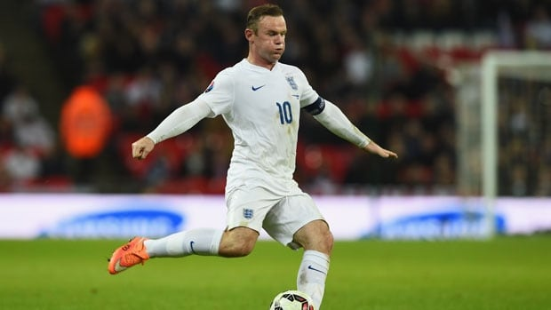 Wayne Rooney Quiz Wayne Rooney scores in th game for England CBC Sports Soccer
