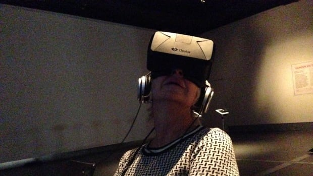 Fans of the documentary can try a new viewing experience with the virtual reality technology. It's set up at the UX Studio at the Cinémathèque québécoise for the duration of the Montreal International Documentary Festival.