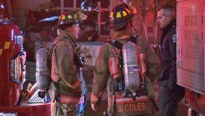 Gas explosion at Toronto condo building