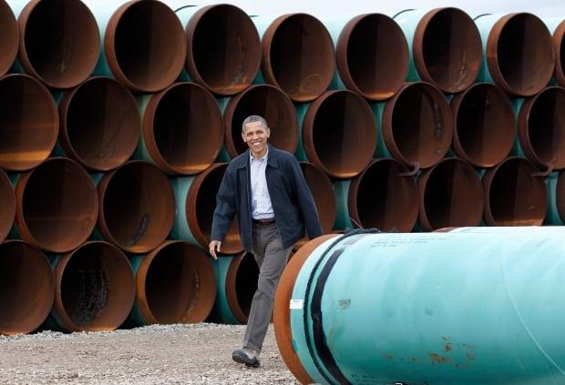U.S. President Barack Obama Keystone XL Pipeline