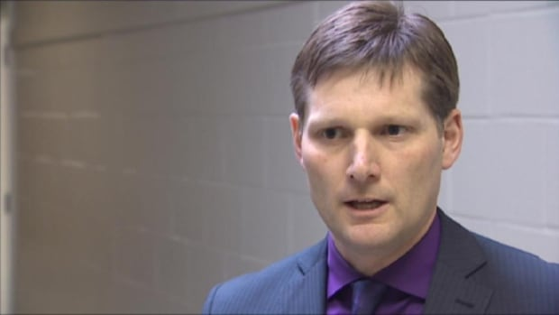 David McTimoney is the superintendent of the Anglophone West School District.