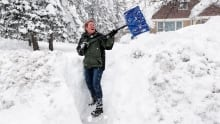How shovelling snow can 'shock' your heart