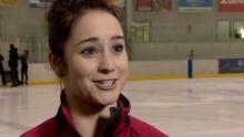 Kaetlyn Osmond talks recovery after figure-skating injury