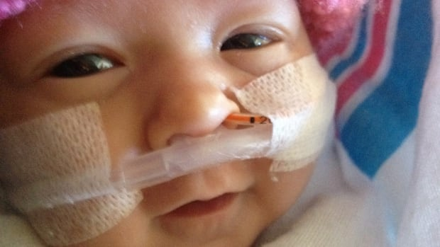 Reece Huculak-Kimmel was born in a hospital in Hawaii, and the Saskatchewan parents are fighting a nearly $1-million bill.