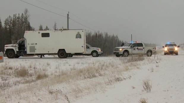 Yellowknife and Behchoko RCMP headed to the Boundary Creek area on N.W.T. Highway 3 as part of the emergency response to the Air Tindi plane that landed on Great Slave Lake Thursday morning.