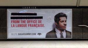 Sugar Sammy ad