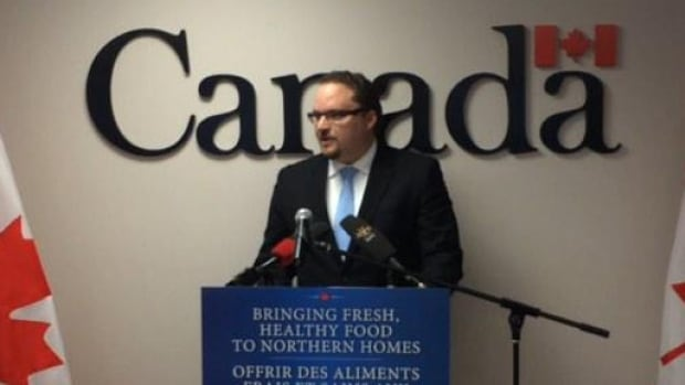 Mark Strahl, the Parliamentary Secretary for Aboriginal Affairs and Northern Development Canada, announced another $11.3 million over the next year for the Nutrition North food subsidy program Friday in Iqaluit.