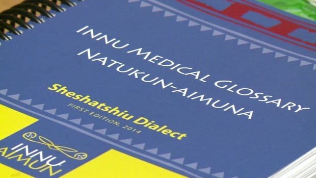 An Innu medical glossary has been handed out in parts of Labrador, and is now available as an app for Apple and Android devices.