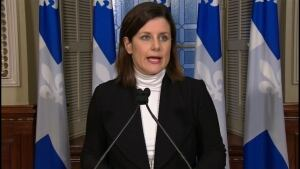 Justice Minister Stéphanie Vallée