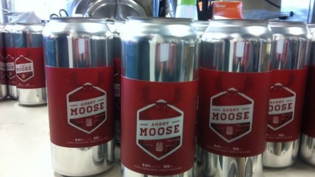 """Apparently not just anyone can use the word """"moose,"""" at least when talking about beer. The owner of Sudbury's Stack Brewing says he is going to have to re-brand his Angry Moose and Friendly Moose beers, after Moosehead Breweries told him they own the trademark rights to the word """"moose,"""" as it applies to beer."""