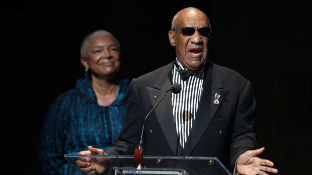 Lawyers had filed an emergency motion on Saturday to prevent Bill Cosby's wife Camille, seen here on stage in New York City in 2009, from being deposed Monday in a defamation law suit against her husband.