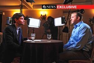 APTOPIX Ferguson - Wilson TV Interview