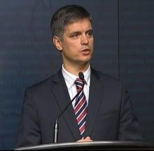 Vadym Prystaiko Ukraine Ambassador Canada Aid