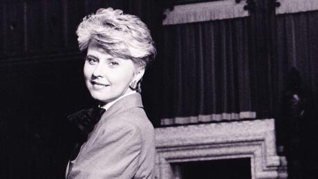 Former CBC reporter Judy Morrison in 1983
