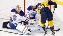 Oilers fall to Predators in OT