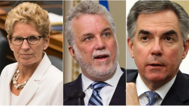 The premiers of Ontario, Quebec and Alberta will meet this week to discuss how to move the Energy East pipeline forward.