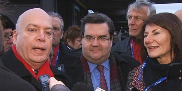 Robert Poeti and Denis Coderre