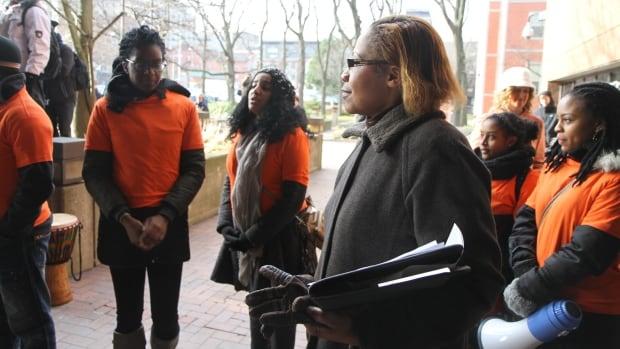 Hamilton Police Service community relations coordinator Sandra Wilson has met with advocates since a December anti-racism march. The service has said it will consider keeping race data to track incidence of racial profiling.