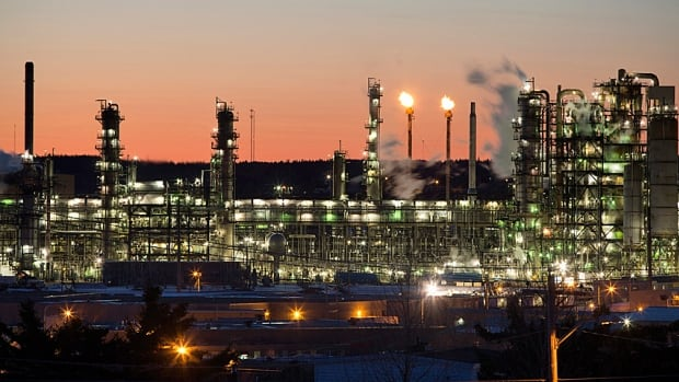The Irving Oil refinery is an example of the downstream part of the oil business. When crude is cheap and gas expensive the downstream sector is in the money.