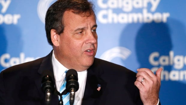 New Jersey Governor Chris Christie speaks at the Energy Sector Luncheon in Calgary, Alberta on - chris-christie-calgary-20141204