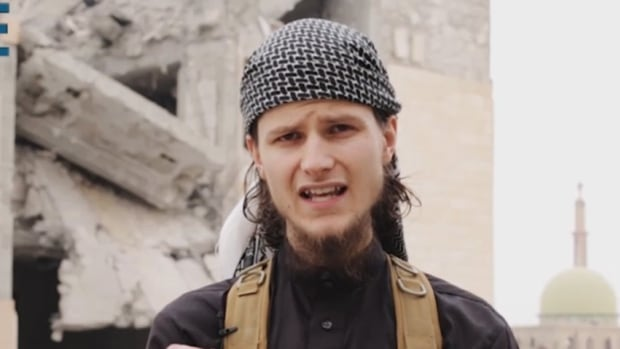 John Maguire, who appears in a new ISIS video, was reportedly under investigation by the RCMP after travelling to Syria to join ISIS as a foreign fighter in January 2013.