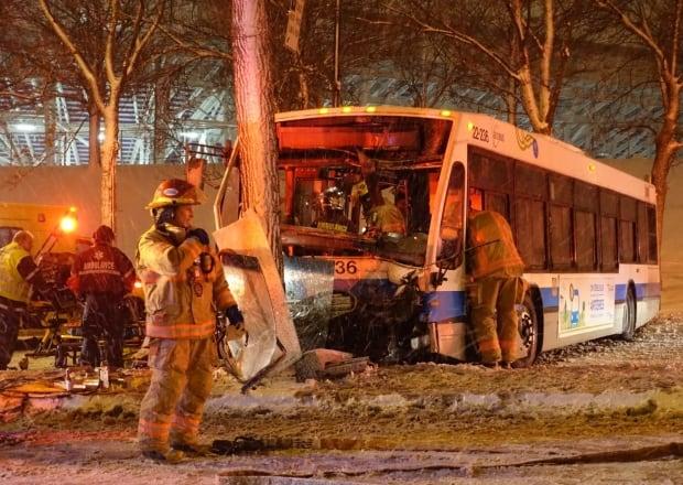 STM bus crash