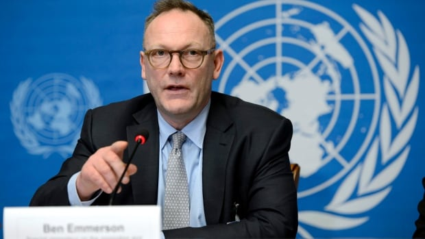 Ben Emmerson, UN  special rapporteur  on counterterrorism and human rights, says U.S. officials should be prosecuted following revelations of CIA torture.