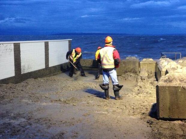 Tsawwassen storm surge