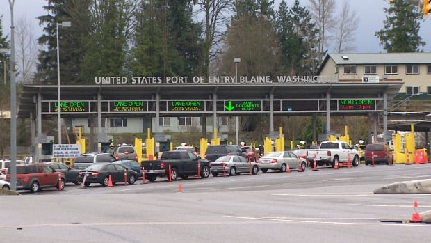 The lineups are getting a little shorter for British Columbians who choose to cross the border to Washington.