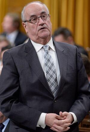 Veterans Affairs Minister Julian Fantino