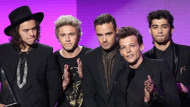 One Direction members accounted for half of the 10 most recirculated tweets, including the three most popular.