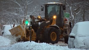Montreal snowplow Dec 2014