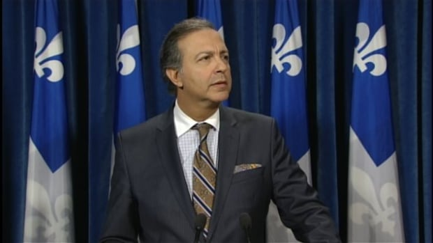 Quebec Labour Minister Sam Hamad announced Thursday that the hourly minimum wage will rise by 20 cents starting May 1, 2015.