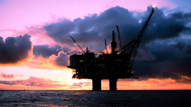 This file photograph from 2001 shows the Statfjord A- oil platform in the North Sea, off the Norwegian coast. It's operated by Statoil, the same company that has been approved to explore for oil about 200 kilometres off the coast of Nova Scotia.