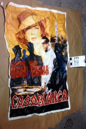 Luka Magnotta Casablanca poster