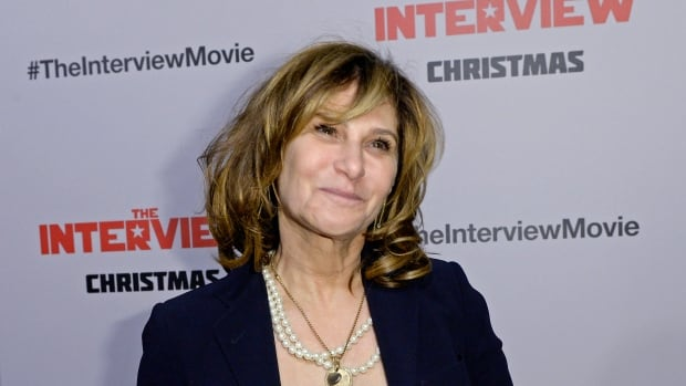 Sony Pictures Entertainment Co-Chairman Amy Pascal poses during the premiere of The Interview in Los Angeles on Dec. 11.
