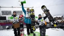 Two medals for Canadian slopestylers on Dew Tour