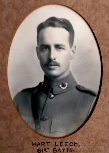 Canadian WW1 Soldier Hart Leech