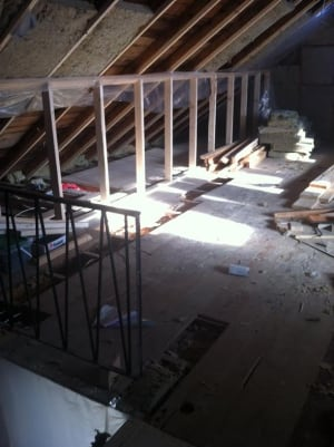 Janice Braden attic water damage