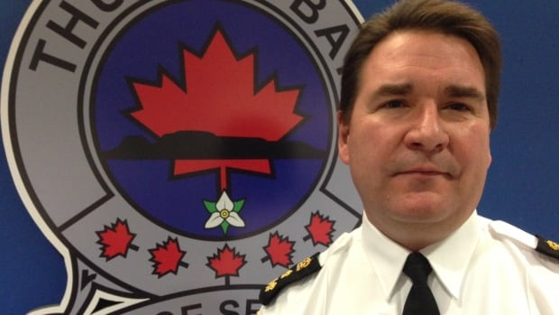 Thunder Bay Police Chief J.P. Levesque.