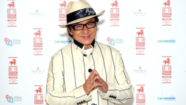 Jackie Chan, seen here in August, was reportedly not on the boat that capsized Wednesday on the set of his upcoming film Skiptrace. Cinematographer Chan Kwok-hung drowned in the incident.