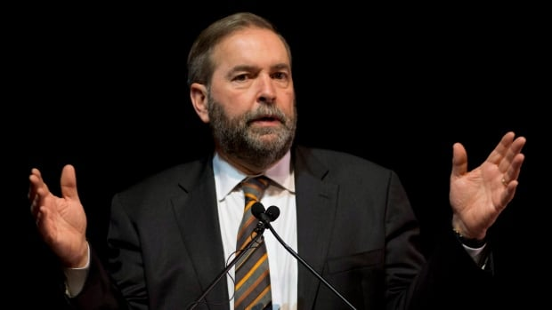 NDP Leader Tom Mulcair will have one less MP in his caucus when he returns from the Christmas break in January.