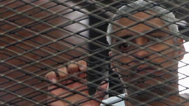 Mohamed Fahmy and two colleagues were arrested on Dec. 29, 2013, while working for satellite news broadcaster Al-Jazeera English.