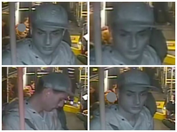 Halifax Transit released these infrared photos of the attacker.