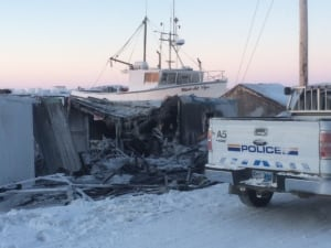 Iqaluit shack fire
